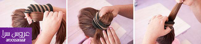 آموزش مدل موی گوجه ای - شنیون